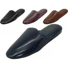 New Men's House Slippers Classic Comfort Soft Padded Loafer Shoes, Sizes: 9-13