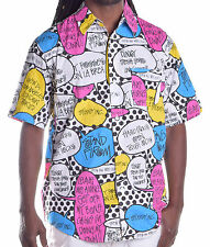 Stussy Men's Color Opinion SS Button Up Shirt