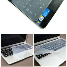 Universal Clear Laptop Notebook Silicone Keyboard Skin Cover case Protector film