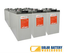 12V/ 24V/ 48V 1380 AH OFF GRID SOLAR DEEP CYCLE AGM BATTERY BANK