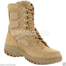 NEW Altama Made in US Army Desert Hoplite Military Tan Sand GI Work Combat Boots
