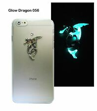 Swarovski Crystal Glow Fly Dragon Hard Back Case Cover For New Apple iPhone6/6s