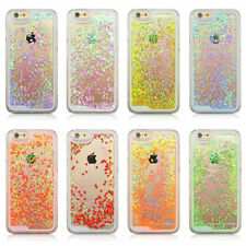 Clear Dynamic Star Liquid Glitter Quicksand Case Cover for iPhone 5 5C 5S 6 plus