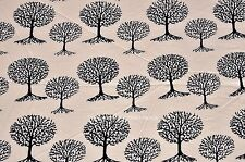 Indian Hand Block Palm Tree Print Cotton Fabric Natural Dyes Cotton Fabric Yard