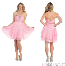 TheDressOutlet Short Prom Homecoming Cocktail Dress Plus Size