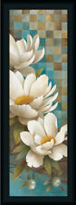 Lily Reflection I Contemporary Floral Framed Art Print Wall Décor Picture