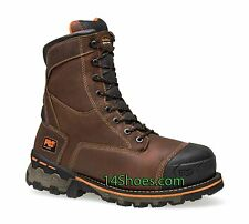 """Timberland PRO Mens 8"""" Waterproof 600 gm Insulated Soft Toe Boots 89635 New"""