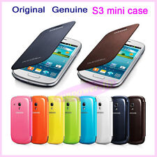 Original Genuine Samsung Galaxy S3 SIII S III I9300 I9308 Black Flip Cover Case