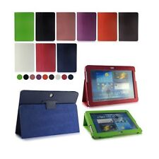 """Flip LEATHER Stand Case Cover for SAMSUNG Galaxy Tab 2 10.1"""" Inch P5100 P5110"""