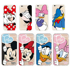 Cartoon Lovely Couple Lover Ultra Thin Soft Case Cover for iPhone 5S 6 6S 7 Plus