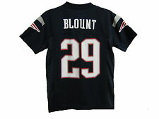 NWT NFL New England Patriots LeGarrette Blount Navy Youth Replica Jersey: S-XL