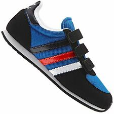 ADIDAS ORIGINALS ADISTAR RACER CHILDREN SHOES TRAINERS LA TRAINER BLUE RED WHITE