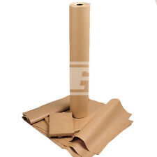 """18"""" (450mm) 70gsm HEAVY DUTY THICK BROWN PURE KRAFT PARCEL WRAPPING PAPER CRAFT"""
