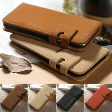 Vintage Soft Leather Wallet Flip Case Cover For Samsung Galaxy S3/S4/S6 Note 2 5