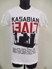 "NEW Kasabian Velociraptor ""tour 2012"" MENS SIZE S-M-XL CONCERT T-SHIRT"