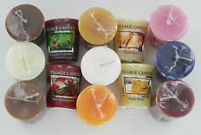 Village Candle Small Wax Votive Candle 13 Scents To Choose From- Great Price