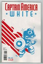 CAPTAIN AMERICA WHITE #1 SKOTTIE YOUNG BABY VARIANT COVER - 2015