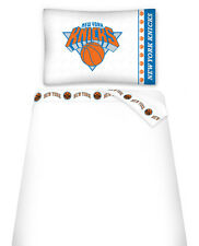 NEW YORK KNICKS SIDELINES TOSS PILLOW & SHEET SET