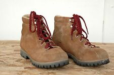 Vintage 1970s Vasque Mountaineering Hiking Boots Waffle Stomper Size 8