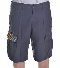 Polo Ralph Lauren Denim & Supply Charcoal Grey Ripstop Cargo Shorts Choose Size