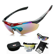 5 lens Cycling Riding Bicycle Bike Sports Sun Glasses Sunglasses Eyewear Goggle