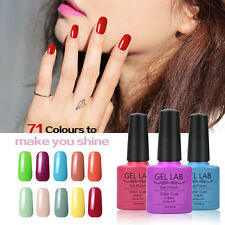 GEL LAB Lacquer Long-lasting Soak Off UV LED Nail Art Colour Gel Polish Manicure