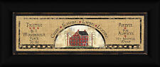 House Sampler 6x18 Together Is A Wonderful Place To Be Burlap Sign Framed Art