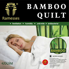 Luxury Bamboo Quilt / Doona  400GSM Single / Double / Queen / King  Size Bed