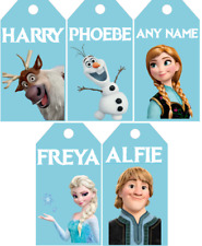 Personalised Frozen Gift Tags Birthday Christmas Events