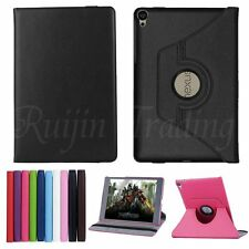 360 Rotating PU Leather Case Cover Swivel Stand For 8.9 inch Google Nexus 9 Tab