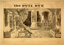 Photo Print Vintage Poster: Stage Drama Theatre Turn Of Century The Evil Eye 03