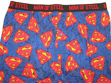 SUPERMAN Clark Kent comic Book MAN OF STEEL Movie Hero MEN'S Sleep LOUNGE Pants