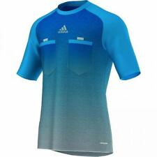 Adidas soccer jersey referee blue new Men's