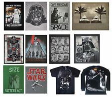Star Wars  movie DARTH VADER yoda STORMTROOPERS lightaber men's tshirts