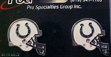 Indianapolis Colts Helmet Logo Stud Post Earrings