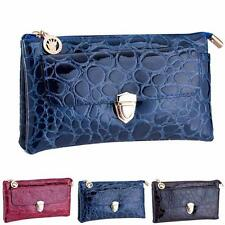Women Shoulder Bags Crocodile PU Leather Crossbody Bags Messenger Handbag Wallet