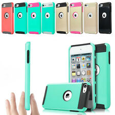 Hybrid Shockproof High Impact Rubber Hard Case Cover For iPod Touch 6th 5th Gen