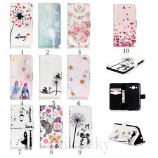 Cute Design Stand Flip Card Wallet Leather Case Cover For Samsung Galaxy Phone