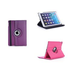 APPLE IPAD MINI 4 IN VARIOUS COLOUR PU LEATHER 360 DEGREE ROTATING CASE COVER