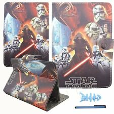 """For 7"""" 7 inch Tab Android Tablets Universal Leather Case Cover Cartoon Star wars"""