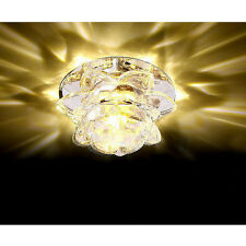 Modern 10cm 3W Crystal LED Ceiling lights chandeliers Colorful Aisle lights #IOP
