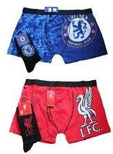 Mens Chelsea or Liverpool Boxers and Socks Football Boxer Shorts NEW Free P&P