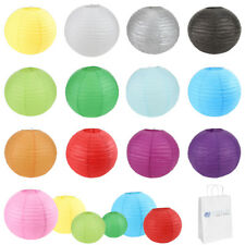 "25 pcs 6"" 8"" 10"" 12"" 14"" 16"" 18"" 20"" Chinese Paper Lantern Wedding Party Decor"