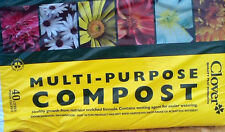 1 BAGS OF CLOVER 40LT MULTI-PURPOSE PEAT COMPOST ENRICHED FORMULA+ WETTING AGENT