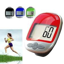 New Pedometer Calorie Counter Run Step Walk Digital Large LCD Display Clip