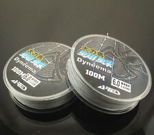 High Quality 4 Stands Fishing Line Super Strong 110yds Yards PE Gray 8 Size