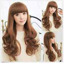 Women Girls Fashion Style Wavy Curly Cosplay Costume Party Full Long Hair Wigs