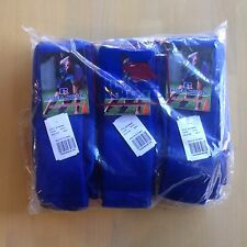 Russell Adult/Youth Solid Color All Sport Tube Sock, 12 Pair, Royal Blue