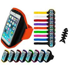 For Apple iPhone 6 (4.7) Gym Sport Running Armband Case Cover Cable Wrap