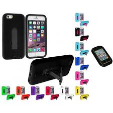 For Apple iPhone 6 (4.7) Hybrid Impact Case Cover Accessory Sticky Pad